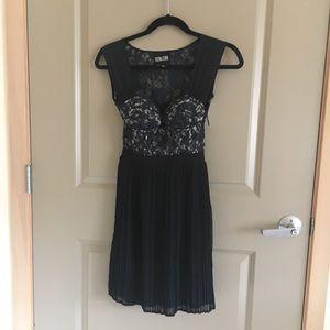 Aritzia Vena Cava Silk Lace Dress